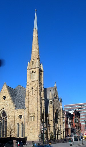 Lenox Avenue - Image: 2nd Ref Church Harlem sunny jeh