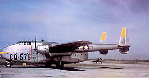 314th Operations Group - 314th TCG Fairchild C-82A Packet Ashiya AB, Japan 48-575