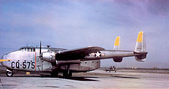 314th Operations Group - 314th TCG Fairchild C-82A Packet Ashiya AB, Japan 48-575