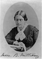 Susan B Anthony 1870