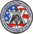 410th Flight Test Squadron - 20th anniversary F-117 patch.png