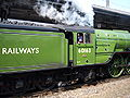 60163 Tornado Private Charter Cathedrals Express Top Gear Race 25 April 2009 Newcastle pic 2.jpg