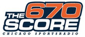 WSCR - Image: 670 The Score WSCR