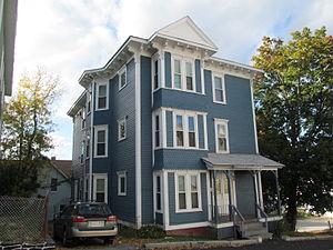 Charles A. Hall Three-Decker - 68 Mason Street