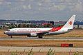 7T-VJO B737-8D6 Air Algerie TLS 08SEP10 (6334570524).jpg