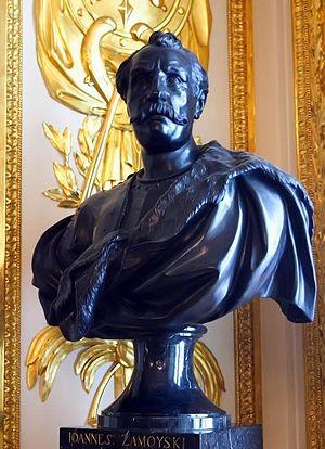 Sigismund III Vasa - Bust of Hetman Jan Zamoyski