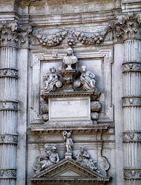 8206 - Venezia - Heinrich Meyring, Cenotafio di Girolamo Fini (+1685) - San Moisè - Foto Giovanni Dall'Orto, 12-Aug-2007.jpg