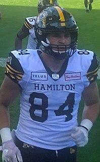 Nikola Kalinic (Canadian football) Professional Canadian football fullback