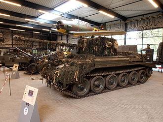 Cruiser Mk VIII Challenger - A30 Challenger, Overloon War Museum
