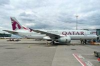 A7-ADI - A320 - Qatar Airways