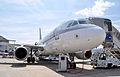 A7-CJA A319 LBG SIAE 2015 (18774306139).jpg