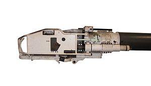 105 mm Modèle F1 - Image: AMX 30 gun img 2352