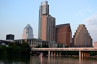 Austin, Texas - Downtown Austin skyline, 2013