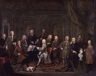 Gawen Hamilton British artist (1698-1737)
