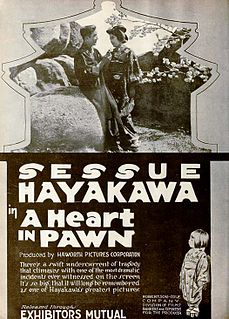 <i>A Heart in Pawn</i> 1919 film by William Worthington