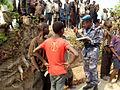 A Kalemie, dans la province du Katanga, la MONUSCO, avec le soutien de sa section des Affaires civiles, sensibilise la population pour une cohabitation pacifique (15152370834).jpg