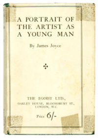 A Portrait of the Artist as a Young Man cover