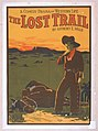 A comedy drama of western life, The lost trail by Anthony E. Wills. LCCN2014636763.jpg