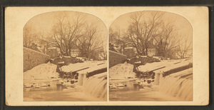 Frankford, Philadelphia - Collapsed mill-dam, 19th century
