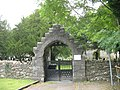 A modern lych gate at St Michael's CinW Church - geograph.org.uk - 556075.jpg