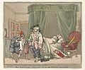 A physician called out of bed by a hoax night call. Wellcome L0041625.jpg