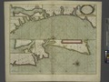 A sea chart of part of the coasts of GALLISIA and PORTUGALL from Cape de Finistrre to the Burlings and from the Burlings to Cape de St. Vincent NYPL1640607.tiff