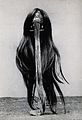 A shrunken head. Photograph, 19--. Wellcome V0031266.jpg