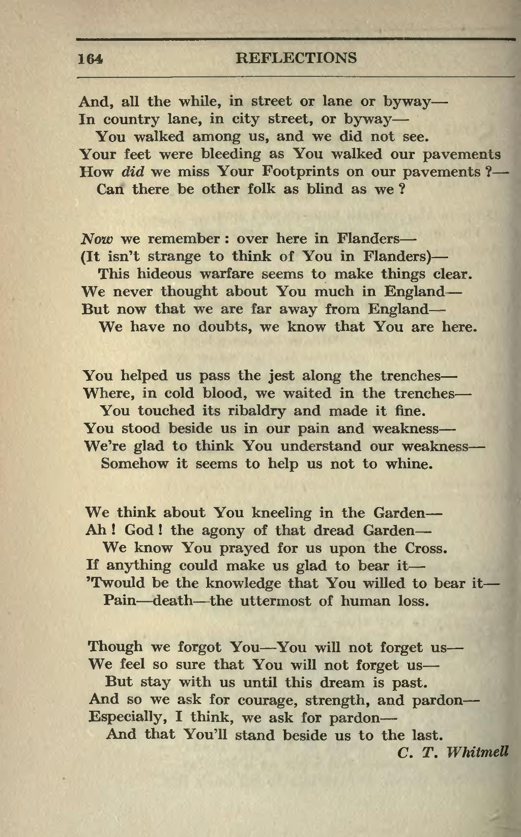 why was poetry important in world war 1