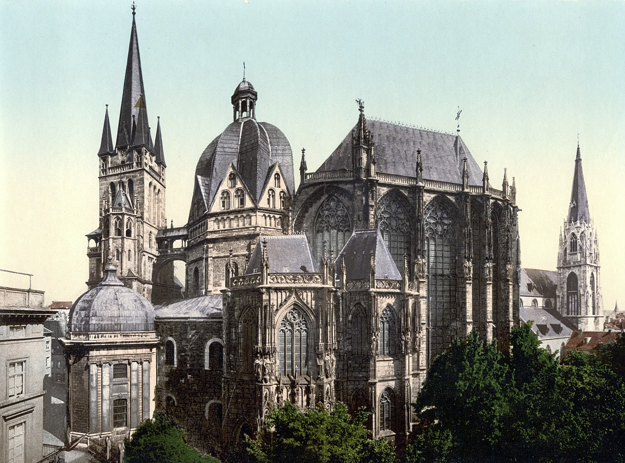 Aachen Cathedral ca 1900