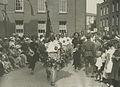 Aankomst van de Wandelsportvereniging Amsterdam onder leiding van de heer C.H.F. – F40648 – KNBLO.jpg
