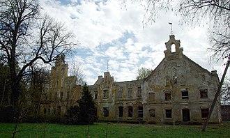 Väike-Maarja Parish - Image: Aavere mõisa peahoone