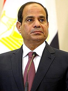 Abdel Fattah el-Sisi Current President of Egypt