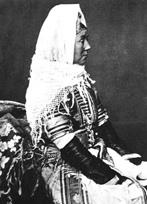 Women in Abkhazia - Image: Abhaz Woman