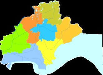 Jiaxing - Image: Administrative Division Jiaxing