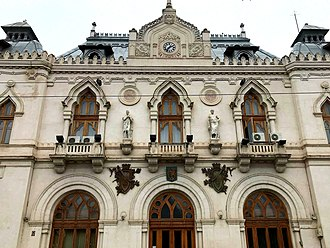 Western Moldavia - Image: Administrative Palace of Galati