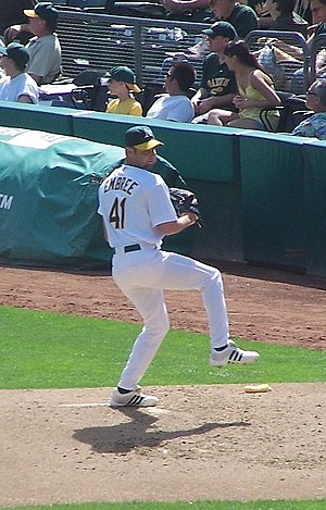 Alan Embree - Embree with the Oakland Athletics