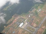 Aerial View Of Tawau Airport (2518249620).jpg
