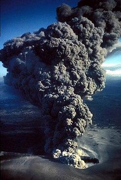 Aerial view of erupting and smoking volcano.jpg