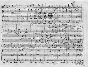 Afferentur regi - Draft of Afferentur regi, page 1