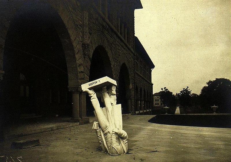 estatua terremoto san francisco