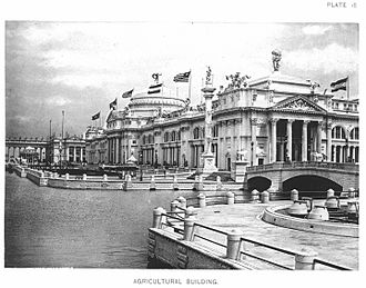 McKim, Mead & White - Agricultural Building — Official Views Of The World's Columbian Exposition — 18
