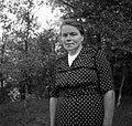 Ahlin Alojzija, Peč, pri Finžgarji 1949.jpg