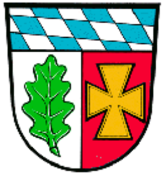 Aulzhausen - Coat of arms of Aichach-Friedberg