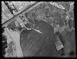 Air views of Palestine. Flight from Gaza to Cairo via Ismalieh. Ismalieh. Harbour and landing docks LOC matpc.15900.jpg