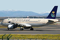 HZ-ASA - A320 - Saudi Arabian Airlines