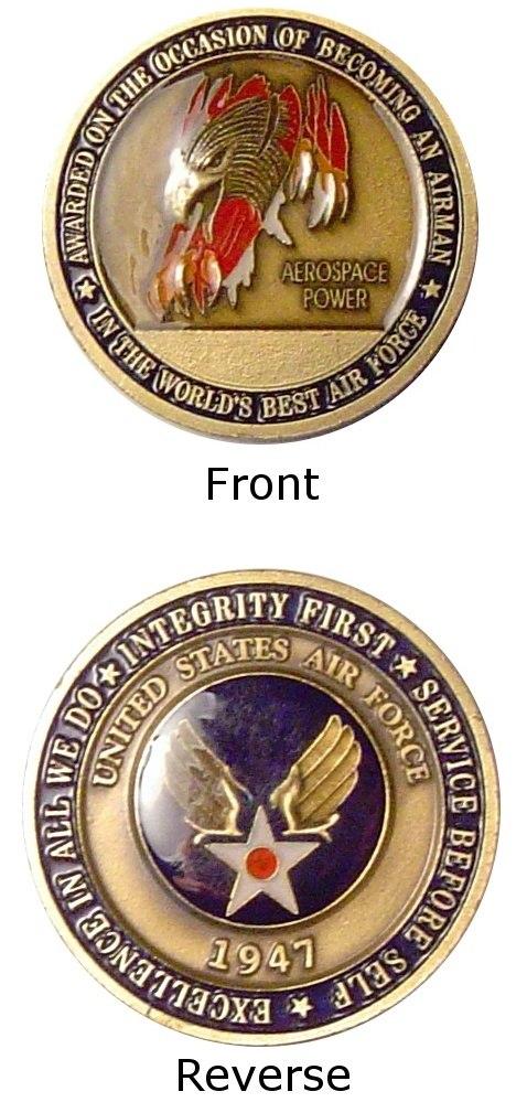 Airmans Coin