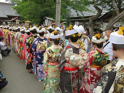 会津田島祇園祭 七行器 福島県
