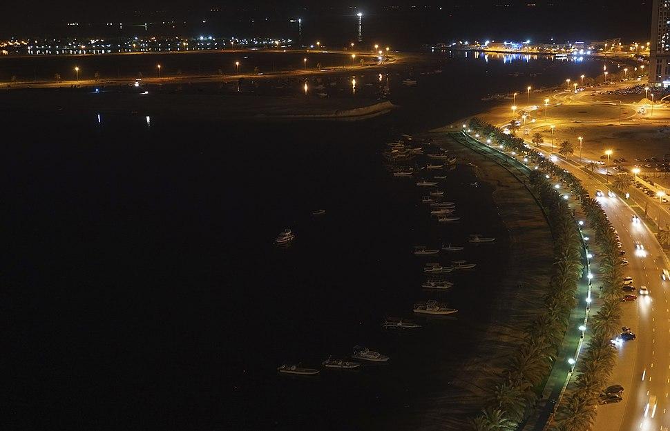 Al Khan Lagoon Boats Port