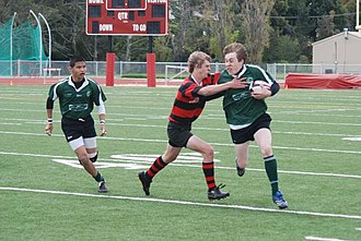 Alameda High School - Alameda Islanders Rugby playing Marin Highlanders