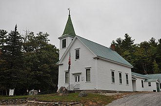 Albany, New Hampshire - Image: Albany NH Chapel And Museum